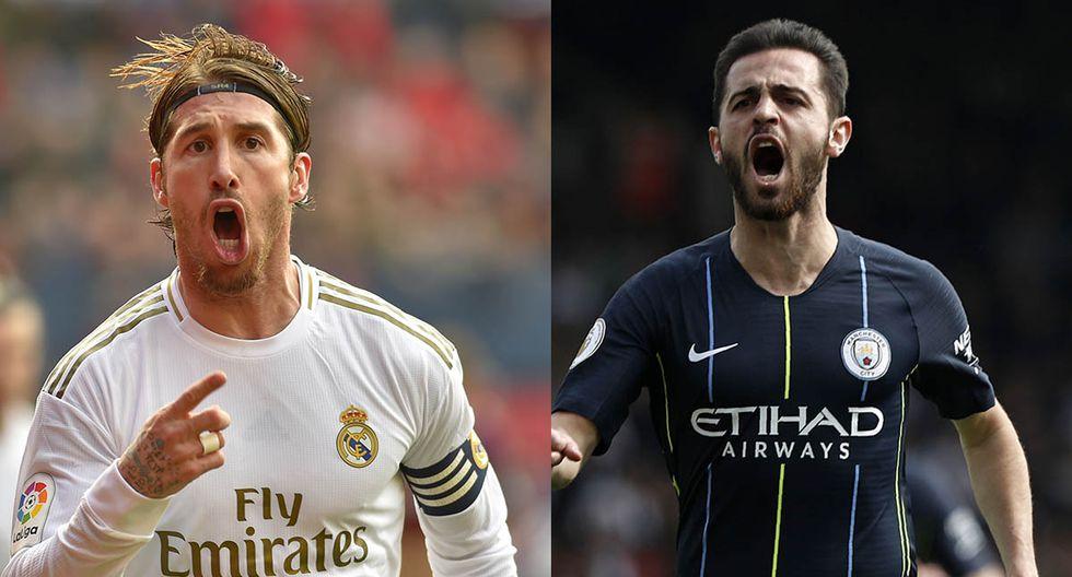 Ver Real Madrid vs. Manchester City en vivo y en directo por Champions League: Ramos y Silva apuntan a ser titulares. | Foto: AFP