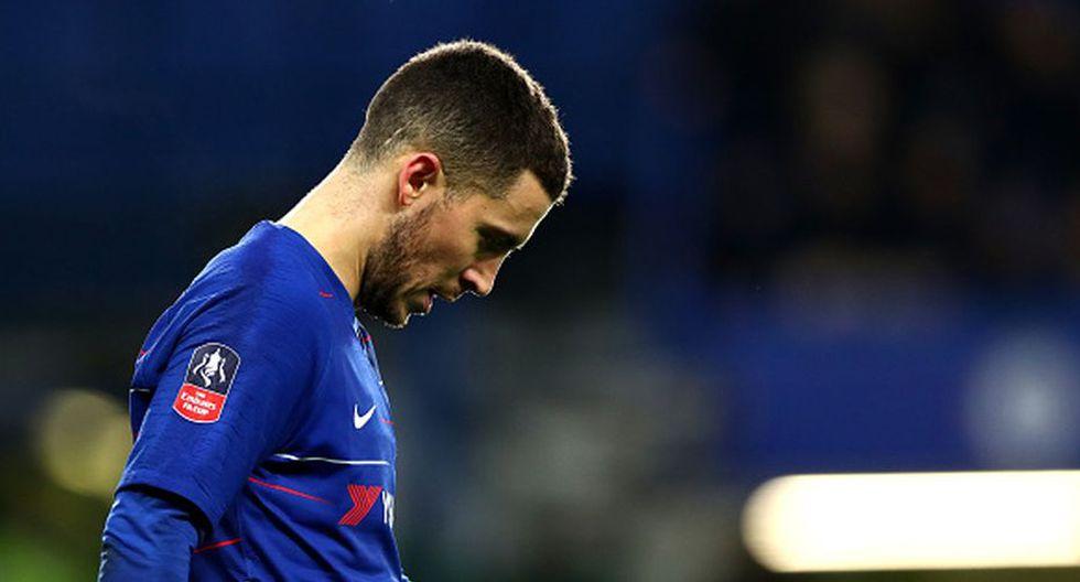 Hazard tiene planes de dejar Chelsea, luego de la sanción lo pensaría dos veces. (Getty)