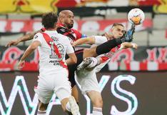 Empate en Brasil: River Plate y Atlético Paranaense igualaron 1-1 por los octavos de final de la Copa Libertadores