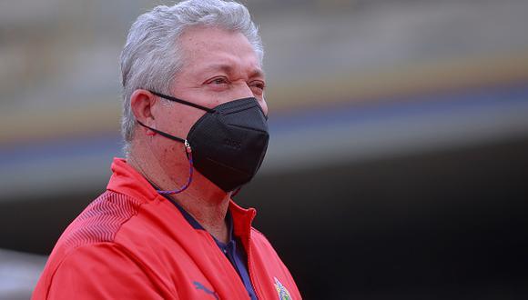 Víctor Manuel Vucetich no va más como entrenador de las Chivas en el fútbol mexicano (Foto: Getty Images).