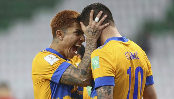 Tigres vs. Palmeiras se enfrentaron por la semifinal del Mundial de Clubes. (Foto: AP)