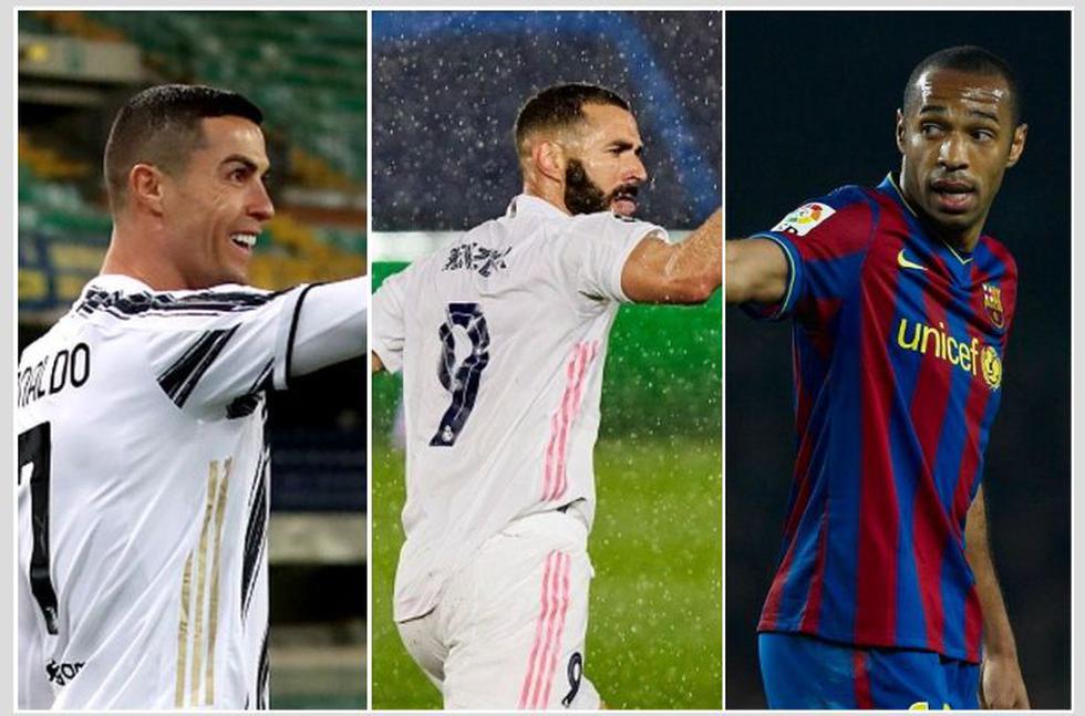 Los máximos goleadores en la historia de la Champions League. (Fotos: Getty)