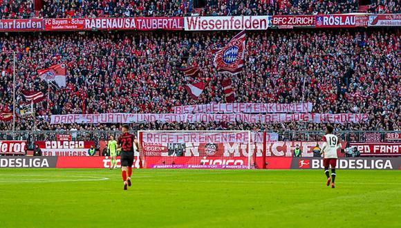 Los hinchas alemanes volverán a los estadios en otoño próximo. (Getty)