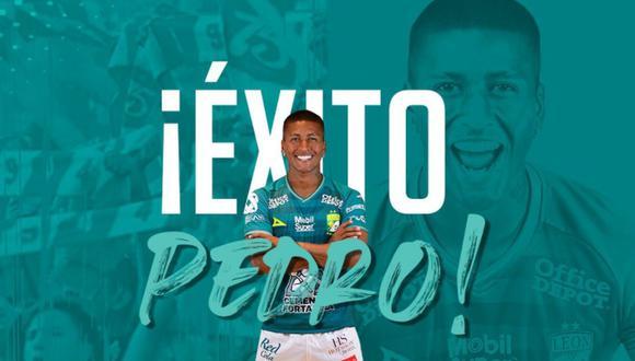 Pedro Aquino se fue del León como campeón del Apertura 2020. (Foto: Twitter de León)
