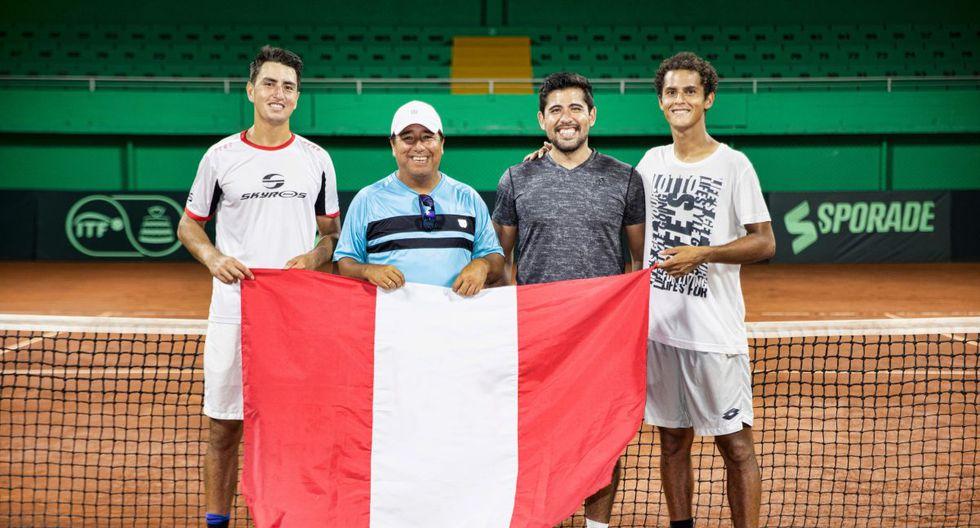 Nicolás Álvarez, el capitán 'Tupi Venero, Sergio Galdos y Juan Pablo Varillas. (Foto: José Rojas/ GEC)