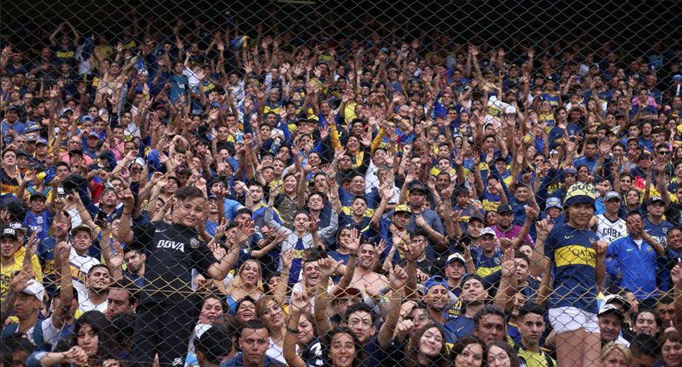 River vs Boca: 50 mil hinchas asistieron a la Bombonera. (Twitter)