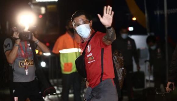 Llegada de la Selección Peruana de fútbol al Hotel Windsor Leme de Rio de Janeiro. (Fotos Jesús Saucedo/@photo.gec)