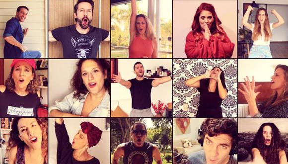 """Canta fuerte"" reunió a más de 20 artistas que se animaron a participar sin salir de sus casas. (Difusión / Cáritas Lima)."
