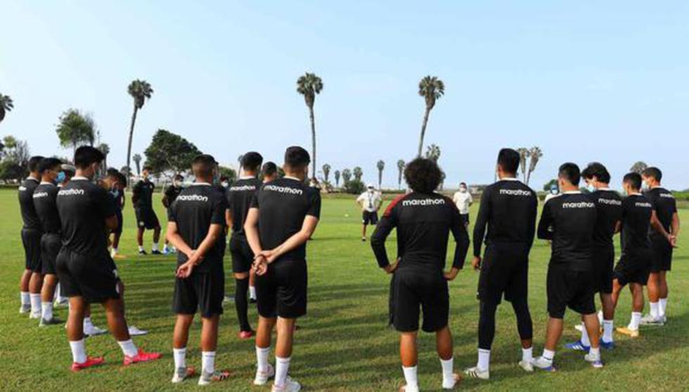 Universitario concentró a sus jugadores en Campo Mar, debido a la cuarentena obligatoria. (Foto: Prensa U)