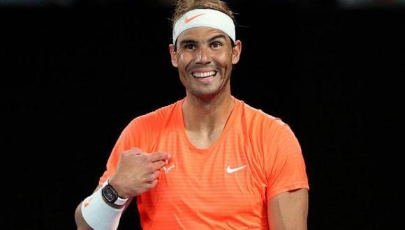 """Rafael Nadal tras gesto obsceno de una fanática: """"No la conocía y no la quiero conocer"""". (Reuters)"""