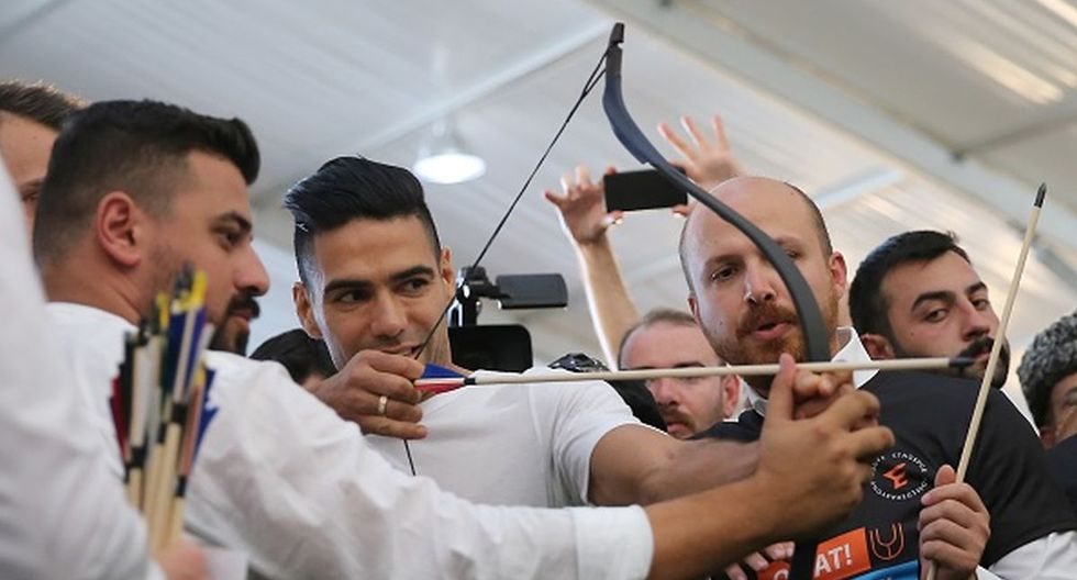 Radamel Falcao ha marcado solo un gol desde que llegó a Turquía. (Getty Images)