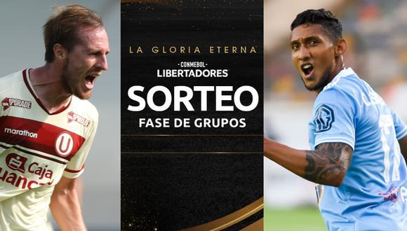 Sorteo fase de grupos Copa Libertadores 2021 (Foto: Liga 1 / Facebook)
