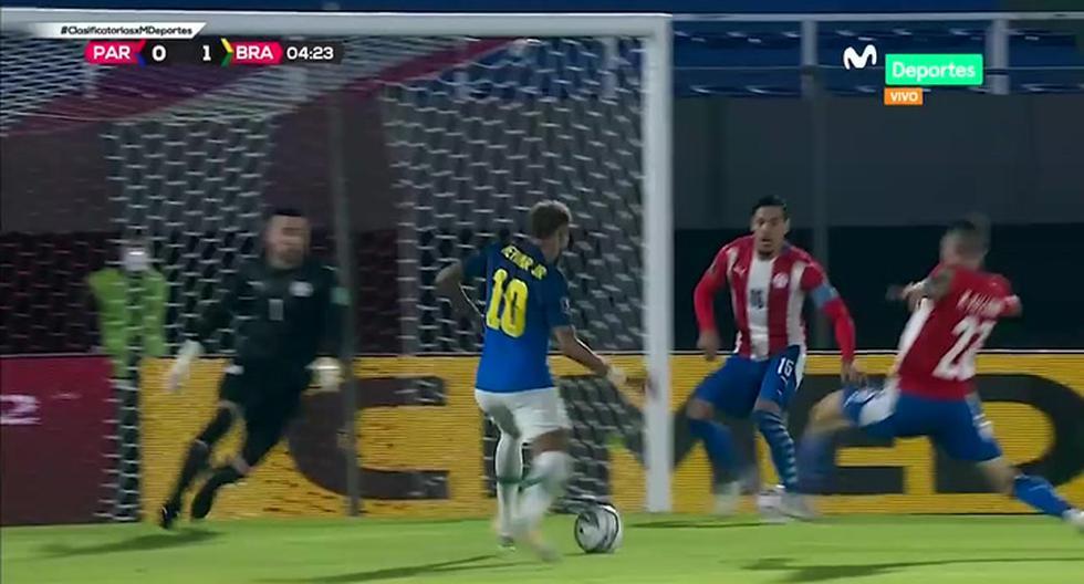 GOL Neymar en Brasil vs. Paraguay EN VIVO: el atacante anota el 1-0 de la Canarinha por las Eliminatorias Qatar 2022   VIDEO   FUTBOL-INTERNACIONAL   DEPOR