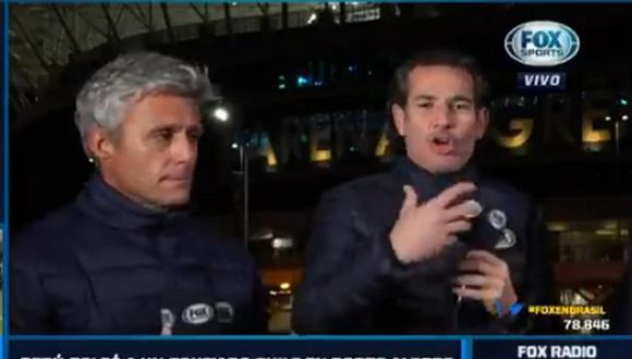 Periodistas chilenos analizaron el Perú vs Chile. (Foto: Fox Sports Chile)