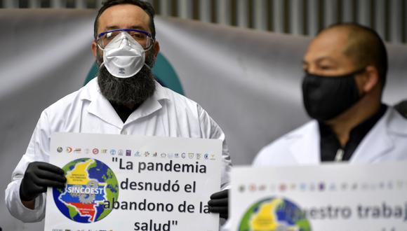 Coronavirus Colombia EN VIVO: consulta todos los detalles al último minuto sobre los casos positivos, sospechosos, muertos y recuperados del COVID-19. (Foto: AFP/Raúl ARBOLEDA)