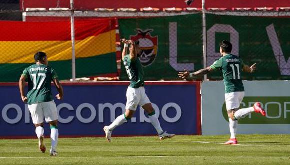 Bolivia venció 4-0 a Paraguay en el duelo por la Jornada 12 de las Eliminatorias Qatar 2022. (Foto: AFP)