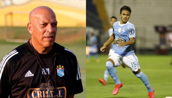 Jhilmar Lora ha sido titular en los últimos dos partidos del equipo de Roberto Mosquera. (Fotos: Liga 1 / S. Cristal)