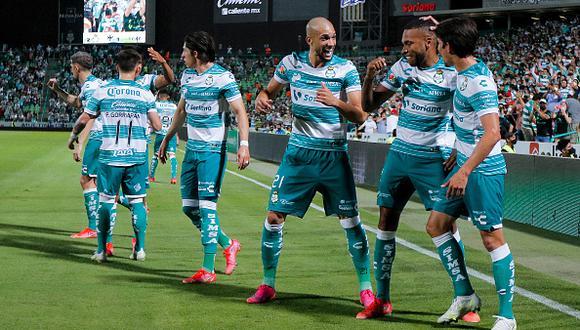 Santos Laguna vs. Monterrey se vieron las caras este jueves por los cuartos de final de la Liguilla MX 2021 (Foto: Getty Images)