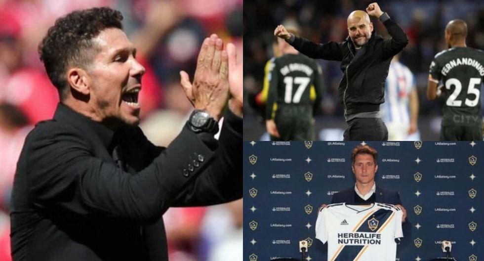 Aquí los mejores entrenadores que hay en la actualidad en el mundo del fútbol. (Fotos: Difusión)