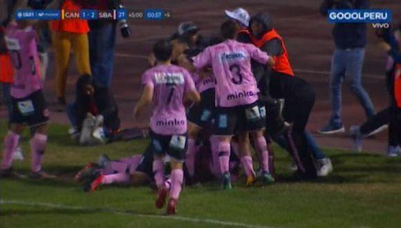 Adán Balbín anotó gol agónico en los descuentos para el triunfo de Sport Boys sobre Cantolao