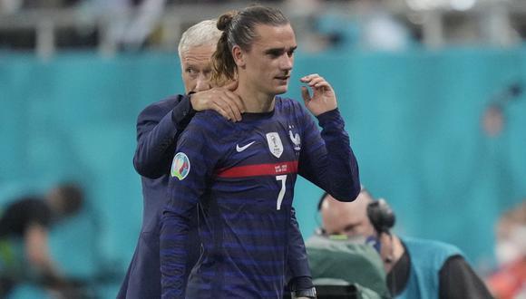 Antoine Griezmann decidió no volver a París con las selección de Francia. (Foto: Reuters)