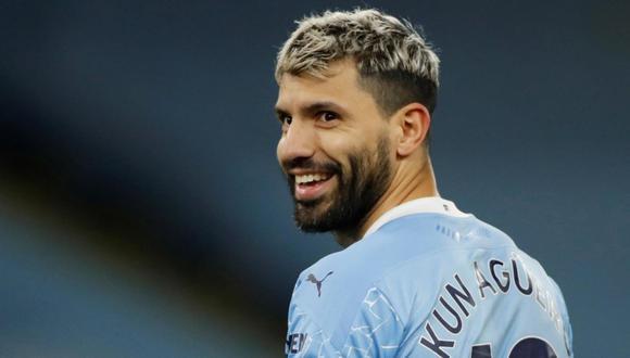 Sergio Agüero termina contrato con Manchester City el 30 de junio de este año. (Foto: Reuters)