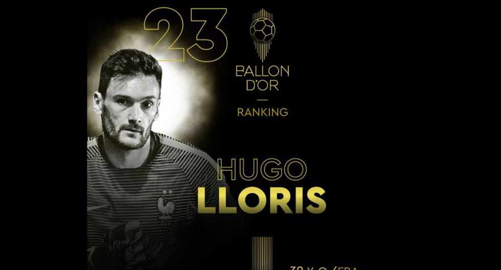 Hugo Lloris   Tottenham. (Foto: @francefootball)