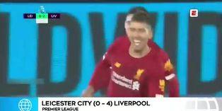 Liga inglesa: Liverpool golea a Leicester en el 'Boxing Day'