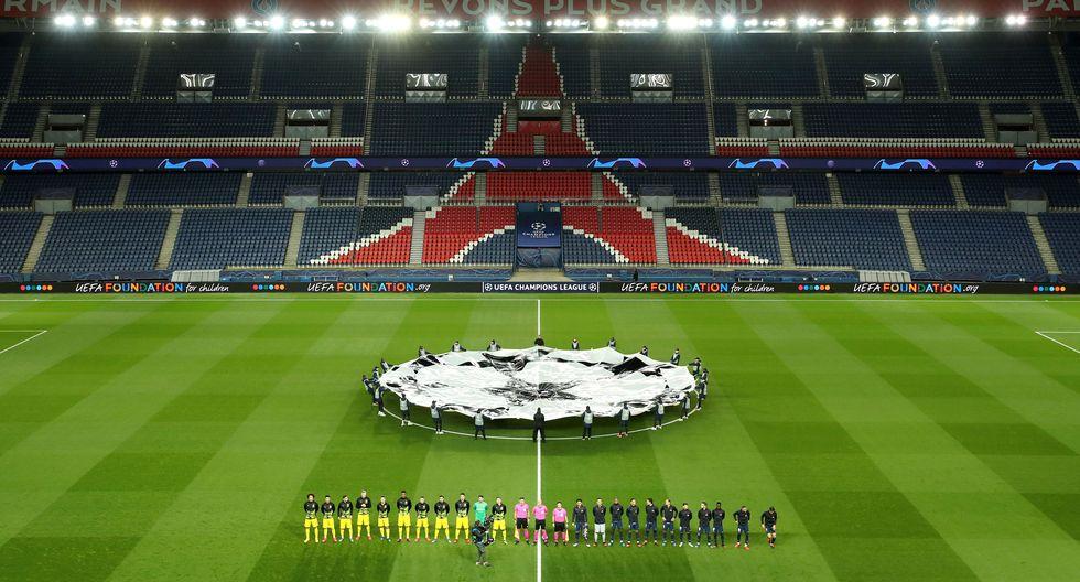 El PSG vs Borussia Dortmund por la Champions League se jugó sin público. (Foto: Getty)