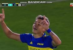 Apareció el goleador: Luis Vázquez puso el 2-0 del Boca vs. Huracán [VIDEO]