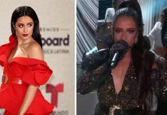Camila Cabello y su profundo mensaje a Cuba en los Premios Latin Billboards 2021