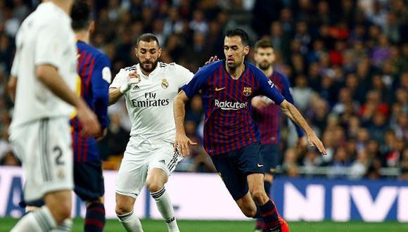 Real Madrid y Barcelona jugarán nuevamente este sábado. (Foto: Getty Images)