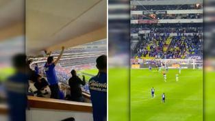 Cruz Azul campeón: Así se vivió el gol desde un palco del estadio Azteca