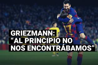 Griezmann revela la razón por la cual no se pudo conectar con Messi en el Barcelona