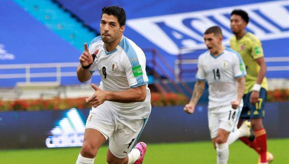 Luis Suárez encabeza la lista de Uruguay para las Eliminatorias. (Foto: @Uruguay)