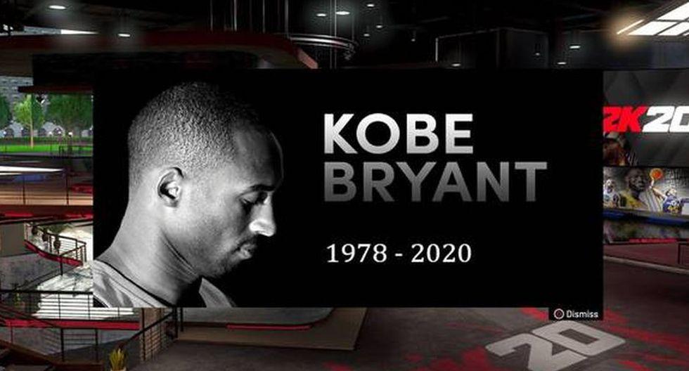 NBA 2K20: los usuarios del videojuego le rindieron tributo a Kobe Bryant de esta forma.