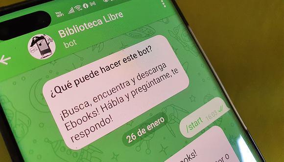 ¿Quieres leer y descargar libros clásicos de Telegram? Usa estos bots. (Foto: Depor)