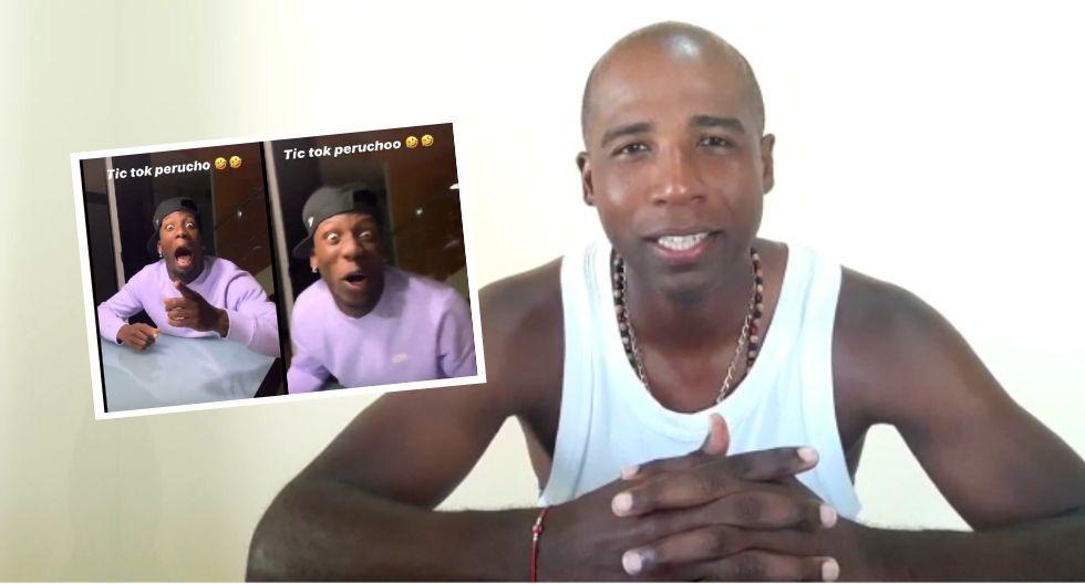 Luis Guadalupe reacciona ante video de Luis Advincula en Tik Tok.
