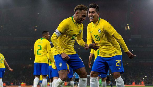 La selección de Brasil jugará un amistoso contra República Checa en marzo camino a la Copa América 2019. (Getty)