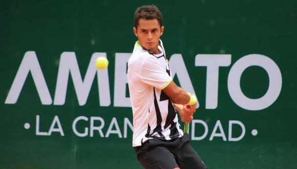 Juan Pablo Varillas avanzó a los cuartos de final del Challenger de Ambato en Ecuador. (KC Tenis)