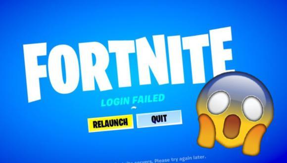 """Fortnite: solucionar el error """"no se puede iniciar sesión en PlayStation Network"""""""