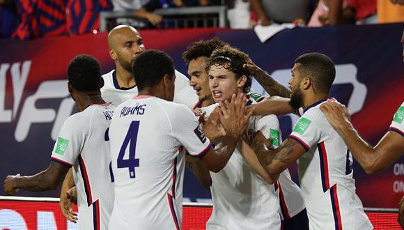 Estados Unidos vs. Canadá se vieron las caras este domingo por las Eliminatorias a Qatar 2022 (Foto: Getty Images).