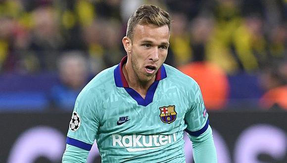Arthur Melo llegó al FC Barcelona procedente del Gremio. (Foto: AFP)