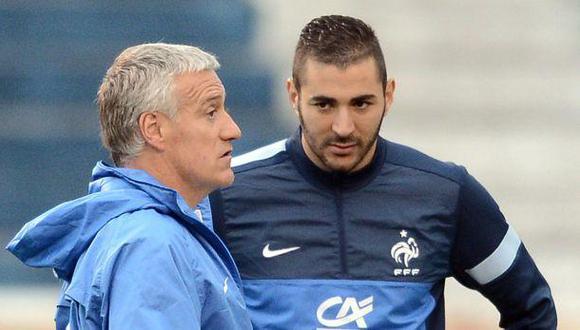 Karim Benzema acusó a Deschamps de ceder a la presión racista
