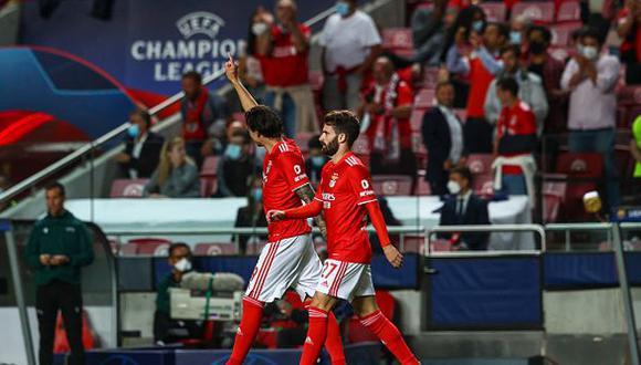 Barcelona vs. Benfica por jornada 2 de la Champions League. (Foto: Getty)