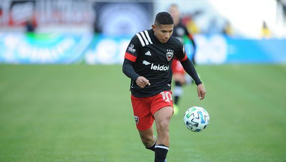 Edison Flores fue fichado por DC United en enero del 2020. (Foto: Getty Images)