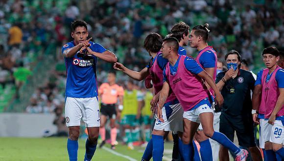 Cruz Azul y Santos Laguna disputarán la vuelta de la final de la Liga MX 2021 este domingo (Foto: Getty Images)
