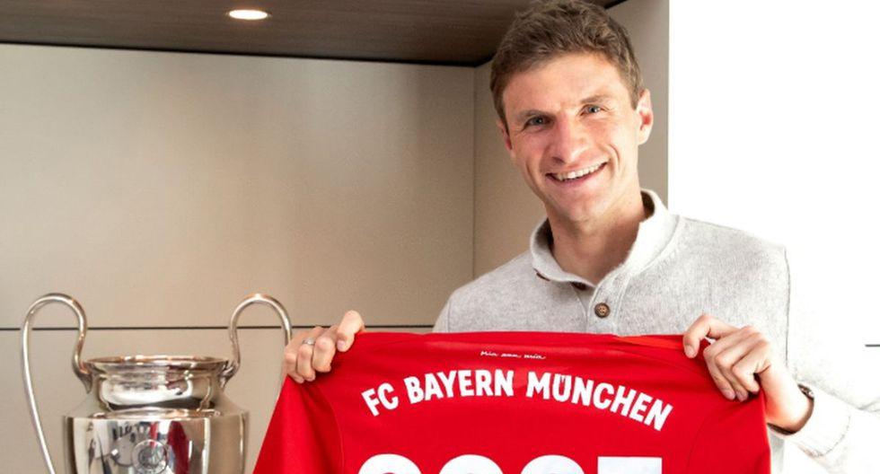 Thomas Müller / Bayern Munich. (Foto: Agencias)