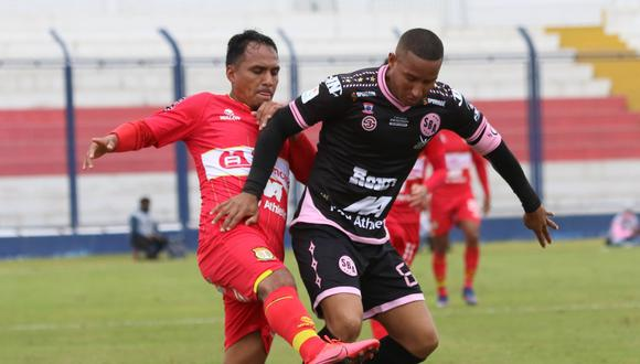 Sport Huancayo le ganó 1-0 a Sport Boys. (Foto: Liga 1)