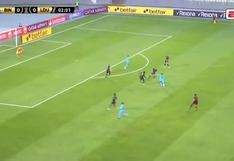¡El travesaño le dijo que no! Arango casi pone el 1-0 en el duelo Binacional vs. Liga de Quito [VIDEO]